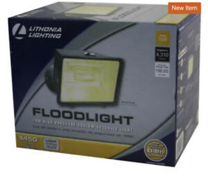 Lithonia Lighting 1-lamp Bronze Finish Sturdy Outdoor Sodium Flood Light OFL 70W