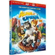 Alpha And Omega Blu-Ray 3D+DVD New Blister Pack