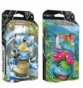 Pokemon Turtok Bisaflor V Deck Themendeck Sammelkarten TCG