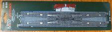 """Kato #20-210 Electric Remote Double Crossover Track 310mm (12 3/16"""") Unitrack"""