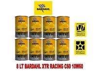 8 LITRI OLIO MOTORE BARDAHL XTR C60 RACING 39.67 10W60 BARDHAL