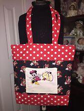 Nurse Tote Bag Handmade/ Minnie Mouse Print