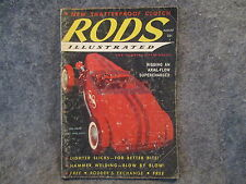 Rods Illustrated Magazine August 1958 Vol. 1 No. 2 New Shatterproof Clutch Z823