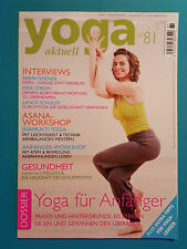 Yoga aktuell Nr.81 Aug./Sep./4/2013  UNGELESEN 1A absolut TOP