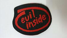 Evil Inside rare logo patch aufnaher metal hardrock