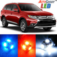 6 x Premium Xenon White LED Lights Interior Package Kit for Mitsubishi Outlander