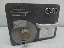 GR General Radio Company Type: 1422-CB Precision Capacitor 1100 PF