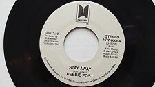 DEBBIE POST - Stay Away / Good Good Lovin PRIVATE '89 AOR Pop Ballad Hallmark
