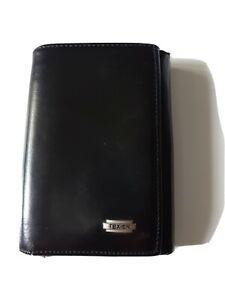 texier porte monnaie noir cuir Très bon état