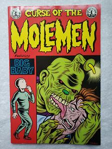 Curse of the Molemen #1 (1991, Kitchen Sink) [VF- 7.5]