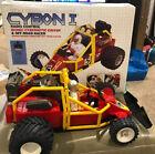 Rare CIB Complete Box Vintage Cybon I Cybon 1 RC Car Buggy Galoob 1986 Works