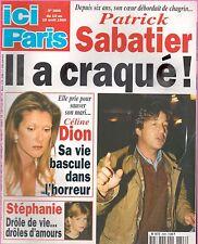 ▬►ICI PARIS 2806 CÉLINE DION_STÉPHANIIE MONACO_MYLÈNE FARMER_PAMELA ANDERSON
