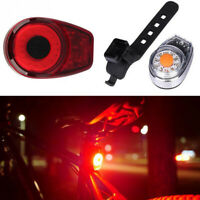 100 Lumen Waterproof LED Cycle Rear Lamp 6 Mode USB Rechargeable Bike Tail Light