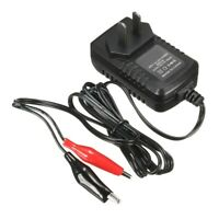 6V Volt 500MA Black & Red Sealed Lead Acid Rechargeable Battery Charger  y