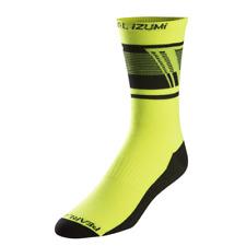 Pearl Izumi Elite Tall Bike Socks Ascend Screaming Yellow 2017 X-large