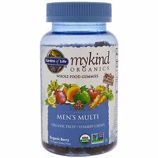 Orgánica para hombre Multi Vitamina por jardín de la vida mykind Organics 120 Gotas De Goma