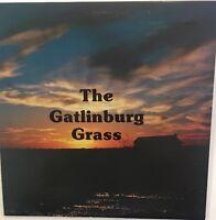 THE GATLINBURG GRASS Self Titled VG+ LP Private Press Bluegrass