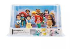 Disney Store Animators' Collection Deluxe Figure Playset Princesses Set of 11