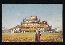 Burma MANDALAY The Golden Kyoung Tuck #7238 PPC used 1906