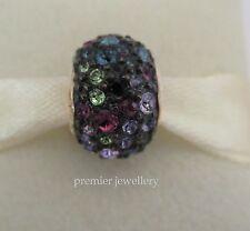 Authentic Chamilia Bead Jeweled Kaleidoscope Mixed & Black Swarovski JC-6G