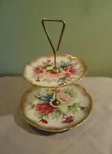 Vintage Shafford Ware Porcelain Cake Stand
