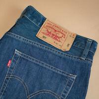 Vintage Levi 501 Jeans Blue Straight Button Fly Unisex (PatchW40L36) W 37 L 34
