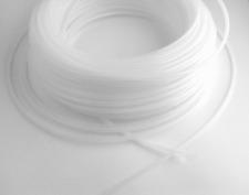 Restmengen Keder- Tube wei�Ÿ-transparent - flexibler Kederschlauch 6 mm > 8 Meter