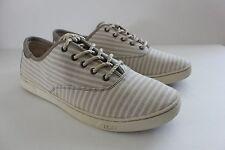 Ugg Australia Women's Eyan II Nautical Striped Oyster Sneakers Shoe Size 11 NIB