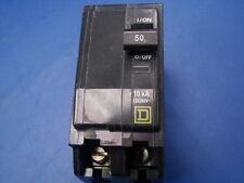 SQUARE D QO250 Circuit Breaker Plug-in Breaker 240 Volt 50 Amp 2 Pole CLEAN
