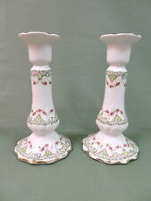 Pair of Limoges Candlesticks.