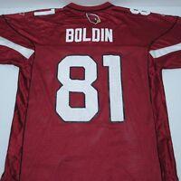 Reebok NFL On Field Arizona Cardinals Anquan Boldin 81 Football Jersey Sz M