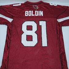 c18c65d54 Reebok NFL On Field Arizona Cardinals Anquan Boldin 81 Football Jersey Sz M