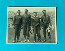 Olympic Games Berlin 1936 Team USA Jesse Owens Metcalfe Pet. Cremer Germany