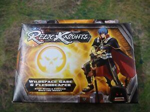 RELIC Knights Strategy Game - WILDSPACE GABE & FLESHREAPER CMON BNIB