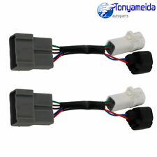 L/R Pair Set Mirrors Power Heated Upgrade Harness Adapter For Excursion 2000-01