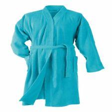 Bathrobe Towel Genuine DOUCEUR D'INTERIEUR Quality Turquoise Brand New
