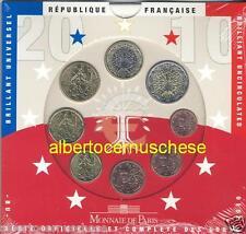 2010 8 monete 3,88 euro FRANCIA France Frankreich Франция França 法国