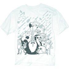 Adventure Time 'Monotone' T-Shirt XL