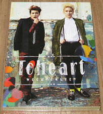 TOHEART INFINITE WOOHYUN SHINEE KEY MINI ALBUM PHOTOCARD + CD + FOLDED POSTER