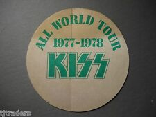 KISS Super Rare 1977-78 backstage pass & bonus 8x10 photo + 4 magazines w/BIN