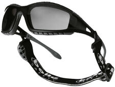 Bolle Tracker - sports safety glasses goggles with smoke lens - strap and arms