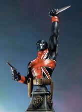 Union Jack Mini Bust by Bowen Designs