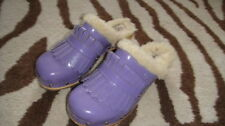 UGGS 4 PURPLE CLOGS SHOES GIRLS