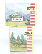 VINTAGE FALLER B-45 320 OO / HO KITS - MOUNTAIN CHALET & PINE TREES