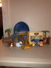 Fisher Price Little People Nativity Inn at Bethlehem Complete w/ box
