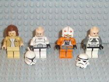 LEGO® Star Wars 4x Figura Clon Trooper Jedi 10188 75159 75192 9516 Accesorios F162