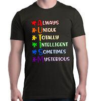 Always Unique T-shirt Autism Awareness Spread Understanding Shirts