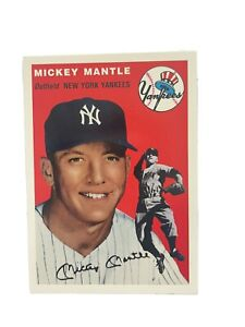 1994 Mickey Mantle Upper Deck All-Time Heroes 1954 Topps Archives #259