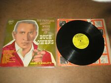 Buck Owens. LP. The fabulous country music sound of Buck Owens (5207)