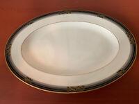 "NEW Noritake Spell Binder #9733 Oval Serving Platter, 14 1/4"""